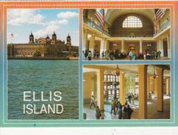CPA NEW YORK CITY- ELLIS ISLAND, IMIGRATION MUSEUM, REGISTRY ROOM, BAGGAGE ROOM - Ellis Island