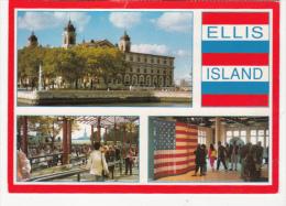 CPA NEW YORK CITY- ELLIS ISLAND, IMIGRATION MUSEUM, MAIN ENTERANCE, EXHIBITION - Ellis Island