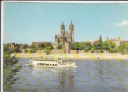 CPA MAGDEBURG- THE DOME, SHIP - Magdeburg