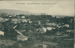 06 NICE / Saint-Sylvestre, Panorama Sur Nice / - Mehransichten, Panoramakarten