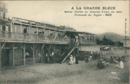 """06 NICE / """"A La Grande Bleue"""", Bains Froids Et Chauds D'eau De Mer, Promenade Des Anglais / - Autres"""
