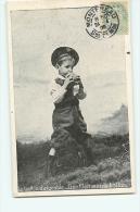 6 CPA , Série Complète - Enfant Et Jeu : Le Ballon Dirigeable  Et Ses Péripéties - 7 Scans - Cartes Postales