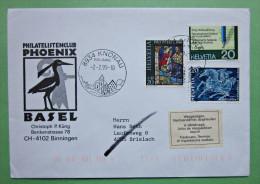 Brief Gel. Knonau 1995 Schweiz Briefmarken - Lettres & Documents
