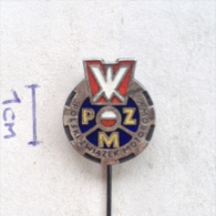 Badge / Pin (Motorcycling) - Poland Polski Związek Motorowy (Polish Automobile And Motorcycle Association) - Motorbikes