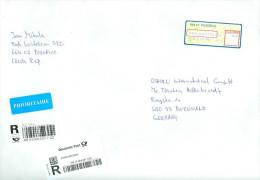 Tschechische Republik Pozorice 2013 Automatenmarke 58 Kcs. R-Brief - Tschechische Republik
