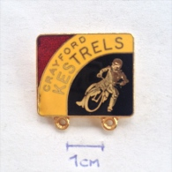 Badge / Pin (Motorcycling) - Speedway England Kent Crayford Kestrels - Motorbikes
