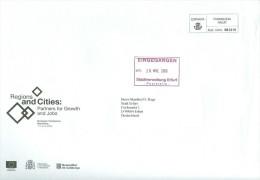 Spanien Barcelona Franqueig Pagat 2006 Europaen Conference Regions And Cities Europäische Kommision Wappen - Poststempel - Freistempel