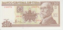 Cuba 10 Pesos 2005 Pick 117 UNC - Cuba