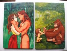 Tarzan Disney 2 Puzzles  Mousse - Puzzles