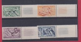 France // Série Des Saisons  1949 //  N 859 à 862  //Côte 13 €  // NEUFS ** - Unused Stamps