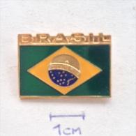 Badge / Pin (Car Racing) - Brazil (Brasil) Formula 1 FIA Ayrton Senna Da Silva - Car Racing - F1
