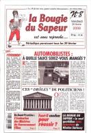 La Bougie Du Sapeur—N° 8—29 Février 2008—Bon état - Giornali