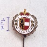 Badge / Pin (Car Racing) - Austria Salzburger Automobil Club 10 Year Anniversary - Car Racing - F1