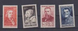 France // Congrès International De Télégraphie //  N 844 à 847  //Côte 11 €  // NEUFS ** - Unused Stamps