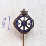 Badge / Pin (Car Racing) - Netherlands Nederlandsche Toeristenbond Koninklijke (Royal Dutch Touring Club) - Car Racing - F1