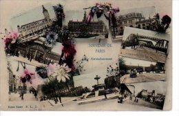 Souvenir Du 12ème Arrondissement E.L.D Multivues (scans Recto Et Verso) - Arrondissement: 12