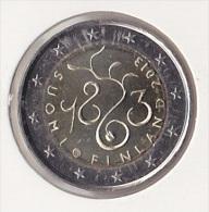 2 Euro Commémorative UNC Finlande 2013 - 150 Ans Du Parlement - Finlande