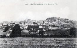 [58] Nièvre > Chateau Chinon Le Mont Et La Ville - Chateau Chinon