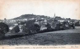 [58] Nièvre > Chateau Chinon Vue Generale Prise De Notre Dame Du Chene - Chateau Chinon