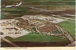 Thème -  Avion -  Aeroport  - Tampa International Jetport Terminal - TC7 - VOIR ETAT - Aerodrome
