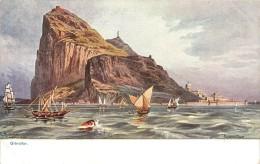 Réf : A-14-108 : Gibraltar Carte Illustrée - Gibraltar