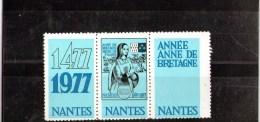 ERINNOPHILIE : Souvenir ANNE DE BRETAGNE - NANTES - Andere