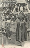 Réf : A-14-115 : Tonkin  Hanoï Servante Indigène - Viêt-Nam