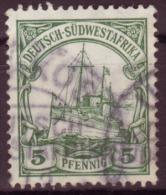 Afrique Sud-Occidentale - DSWA / Y&T No 27 Mi Nr 25 / 1.70 Euros (Usakos) - Colony: German South West Africa