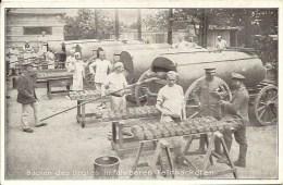 BAKKERIJ - Oorlog 1914-18 - Backen Des Brotes In Fahrbaren Feldbacköfen - Veldbakkerij - Brood - Guerre 1914-18