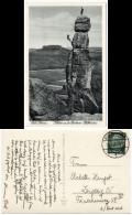 Alte Echtfoto-AK Aus 1935 Sächs. Schweiz - Kletterer An Der Barberine Pfaffenstein - Deutschland