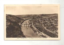 CPA 46 Cahors Vue Générale Du Pont Valentré - Cahors