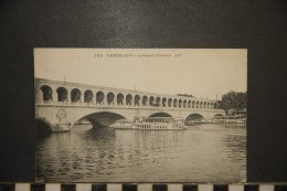 75- PARIS   Le Viaduc D`Auteuil  PENICHE - Arrondissement: 15