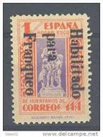 ESBE13-LA477TPO.PEDAGOGOS .España Spain .Espagne. BENEFICENCIA 1937 (Ed NE  13**)sin Fijasellos,MAGNIFICA.RARA - Profesiones