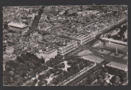 DF / 75 PARIS / VUE AERIENNE DE LA PLACE DE LA CONCORDE ET DE L4 EGLISE DE LA MADELEINE / CIRCULÉE EN 1954 - France