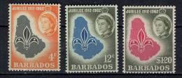 Barbades Y&T 232/34 ** - Barbades (1966-...)
