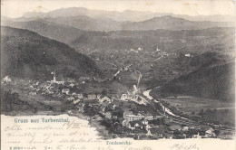 8893 - Gruss Aus Turbenthal Totalansicht - ZH Zurich