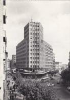 SERBIE,BELGRADE EN 1960,BELGRADE,PALATA  ALBANIJA ,immeuble,bus,hotel - Serbie