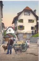 8898 - Luzerner Milchmann  Attelage De Chiens Livrant Le Lait - LU Lucerne