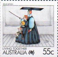 Australia 1988 Living Together 55c Education MNH - 1980-89 Elizabeth II