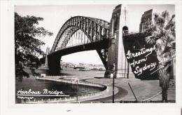 SYDNEY N S W  HARBOUR BRIDGE - Sydney