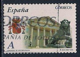 Spain ~ 2010 ~ Autonomous Communities ~ Congress Building ~ Used - 1931-Today: 2nd Rep - ... Juan Carlos I