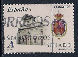 Spain ~ 2010 ~ Autonomous Communities ~ Senate Building ~ Used - 1931-Today: 2nd Rep - ... Juan Carlos I