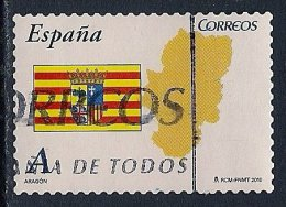Spain ~ 2010 ~ Autonomous Communities ~ Aragon ~ Used - 1931-Today: 2nd Rep - ... Juan Carlos I