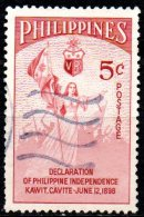 PHILIPPINES 1954 Independence Commemoration - 5c Independence  FU - Philippines