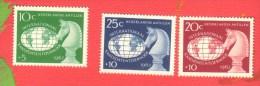 ANTILLES NEERLANDAISES 1962 Neuf** Echecs Echec Chess Ajedrez Schach Scacchi - Scacchi