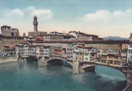 Italie,italia,toscana,toscane,FLORENCE,FIRENZE,PON TE VECCHIO,OLD BRIDGE,PONT,MAISON SUR LE PONT - Firenze (Florence)
