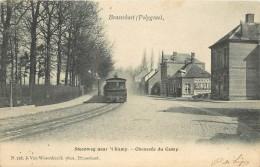 Réf : A-14-157 : Brasschaet (polygone ) ( Chemin De Fer) (train) Steeweg Naar't Chaussée Du Camp - Brasschaat