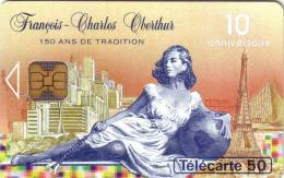 FRANCE PRIVEE 50U FRANCOIS CHARLES OBERTHUR  EN 897 UT RARE - 50 Unidades