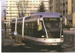 ACACF 43T -  Tramway Hybride TVR Bombardier De La STAN, à Nancy (54) - - Strassenbahnen