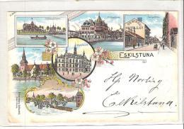 AK 824  Eskilstuna - Lithografie Um 1898-1900 - Zweden